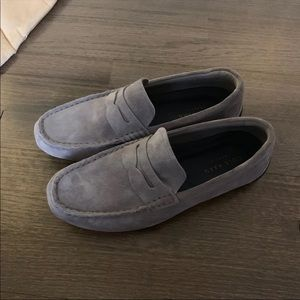 Mens Cole Haan Suede Loafer Flats slip on 7.5
